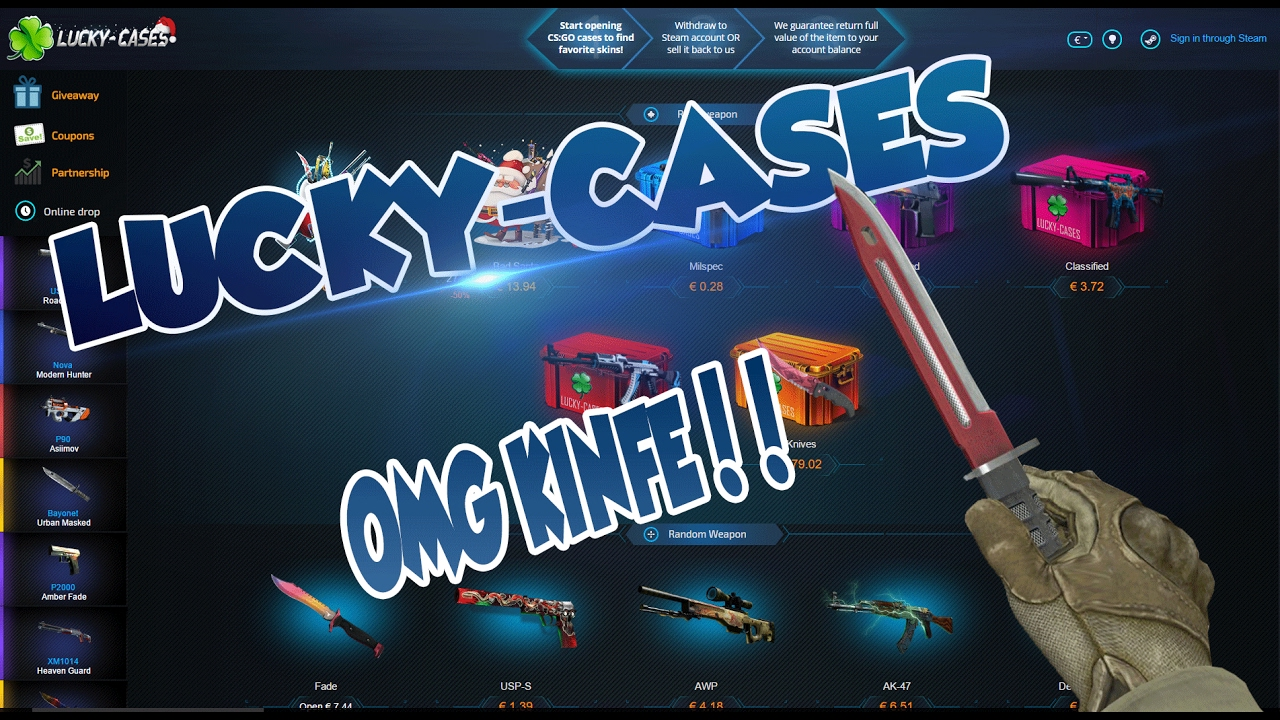 Lucky case game