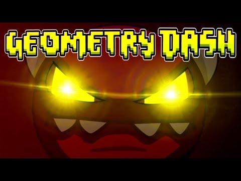Spooky Demons In GEOMETRY DASH
