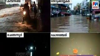 ആലുവ ദേശീയ പാത മുങ്ങിയ അവസ്ഥയില് Aluva - Pathanamthitta - flood report