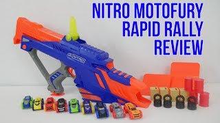 Nerf Nitro MotoFury Rapid Rally Unboxing, Review & Firing