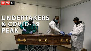 Like health workers, staff at funeral services are also putting their health at risk and had to change the way they operate during this pandemic. Undertakers in Cape Town say that they were prepared for the COVID-19 peak.  #Covid19burial #Covid19SA #Undertakers #CityofCapeTown #KaylynnPalm #KayleenMorgan