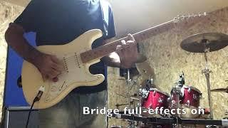 DiMarzio Super Distortion DP100F on a Fender Strat