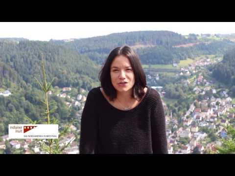 Canadian Film actress Sarah Podemski announces the INDIANER INUIT: DAS NORDAMERIKA FILMFESTIVAL 6
