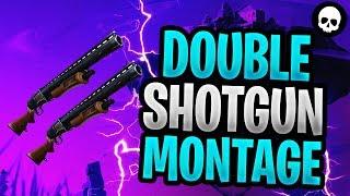 A Fortnite Season 2/3/4 Double Shotgun Montage! (Double Pump Highlights)