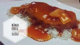 Kínai édes-savanyú szósz recept elkészítése | Ízvarázs