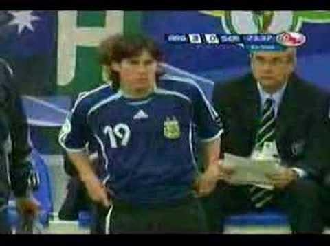 Argentina vs Serbia y Montenegro