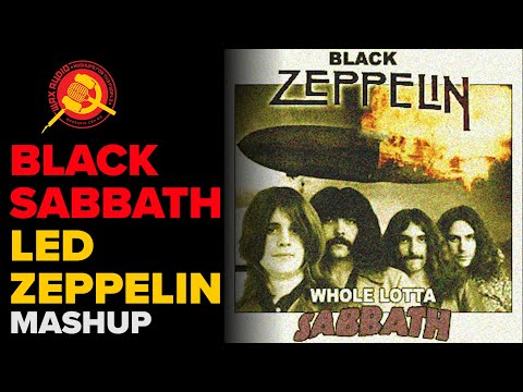Whole Lotta Sabbath Led Zeppelin vs Black Sabbath Mashup  Wax Audio