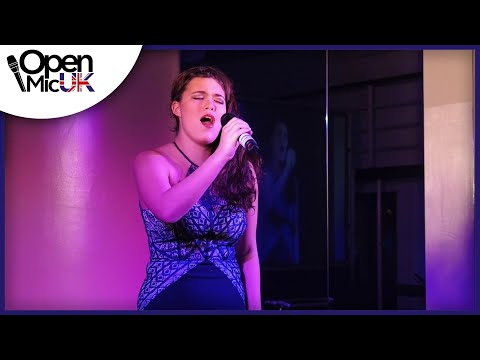 I KNOW WHERE I'VE BEEN – QUEEN LATIFAH performed by CAITLIN at Open Mic UK singing contest