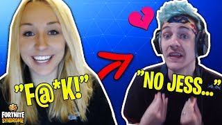 NINJAS WIFE SWEARS LIVE ON STREAM! *NINJA MAD* - Fortnite Moments #125