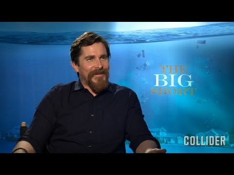 "Christian Bale Talks 'The Big Short' and Plays ""Save or Kill"""
