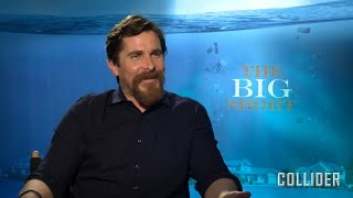 """Christian Bale Talks 'The Big Short' And Plays """"Save Or Kill"""""""