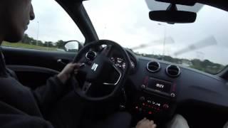 Seat Ibiza Cupra 2016 - test drive.
