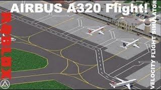 Airbus A320 Flight - Velocity Flight Simulator - Roblox