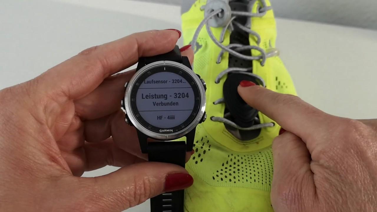 Garmin Fenix and Stryd Footpod Power based workout - little workaround