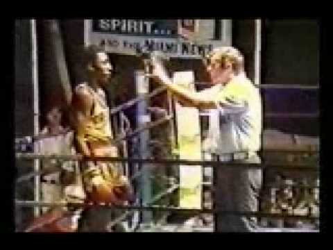 Thomas Hearns vs Aaron Pryor amateur bout