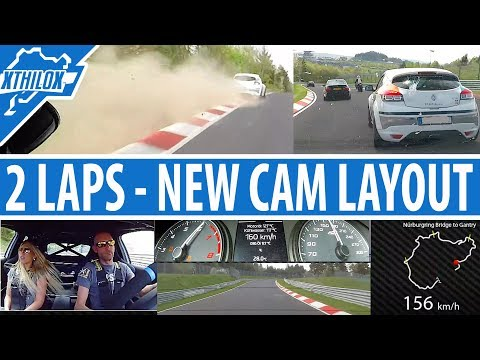2 VERY different Laps - new Cam Layout - 1st Oil Cooler Test - Nürburgring Nordschleife BTG