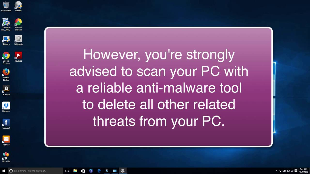 My Web Shield adware removal instructions
