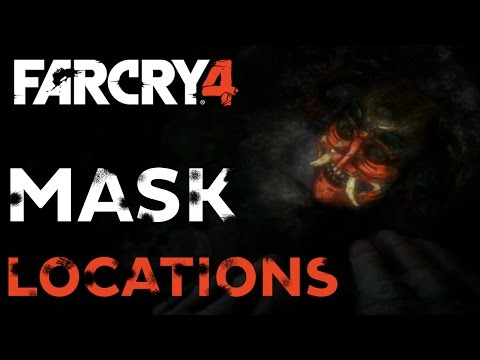 Far Cry 4: Masks Of Yalung Locations: South Kyrat