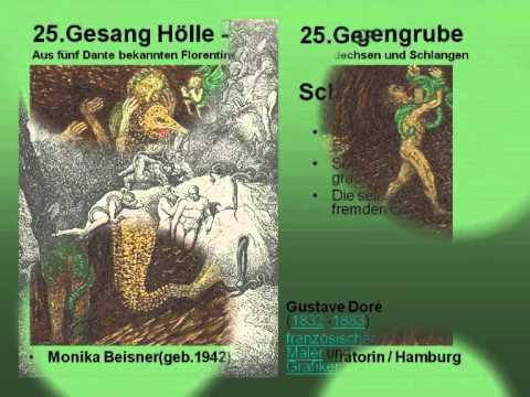 """Dante Alighieri - """"Göttliche Komödie"""" - 9 Kreise des Inferno"""