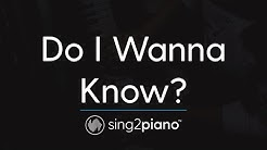 Do I Wanna Know? (Piano Karaoke Instrumental) Arctic Monkeys