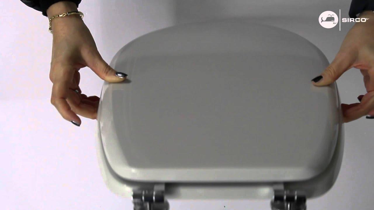 Sedile Copriwc Ideal Standard Serie Liuto Colore Bianco Ideal Youtube