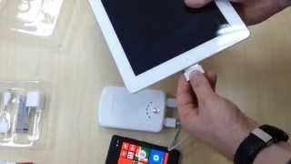 Зарядка iPad без розетки - обзор Yoobao YB-642 11200 mAh