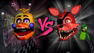 ROCKSTAR FOXY VS ROCKSTAR CHICA ⭐️ La Liga de FNAF | FNAF ULTIMATE CUSTOM NIGHT - Octavos de Final