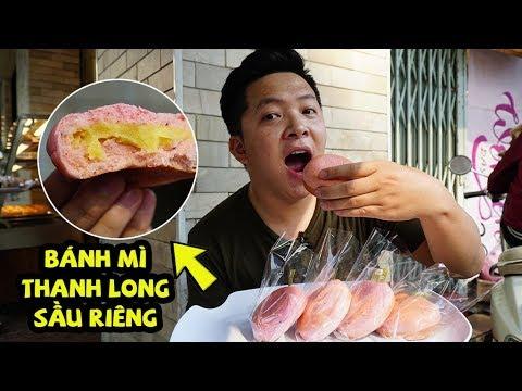 Bánh mì thanh long nhân sầu riêng: Xếp hàng đợi cả tiếng chờ ăn thử | 360 ĐỘ NGON