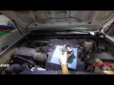 Cleaning the 4runner throttle body