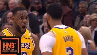 Los Angeles Lakers vs Dallas Mavericks - 2nd Half Highlights   November 1, 2019-20 NBA Season