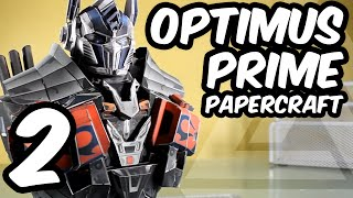 OPTIMUS PRIME AoE - Papercraft (Part 2 - Torso)