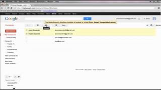 gmail contacts tutorial 2013 gmail tutorial 2013 part 9