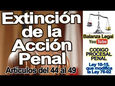 extinción-de-la-acción-pena-en-el-código-procesal-penal