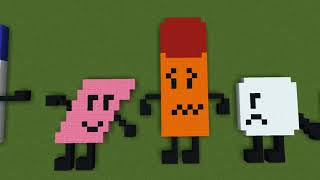 Minecraft BFDI Contestants!!!