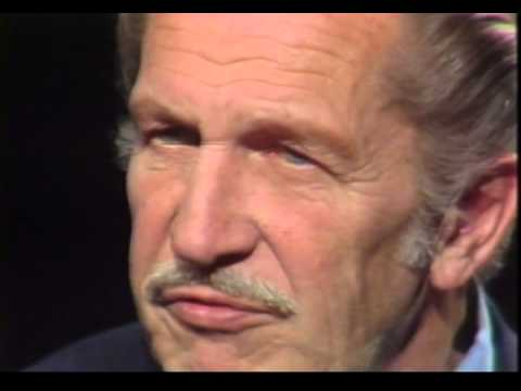 Day at Night: Vincent Price, actor and horror star