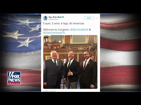 'They Embody the American Spirit': FL Rep. on Patriotic Photo of GOP Combat Veterans