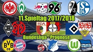 Bundesliga 11.Spieltag 2017/2018 (17/18) Komplett (FIFA 18 PROGNOSE) Deutsch (HD)