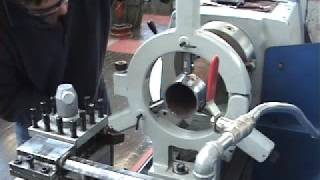 Repeat youtube video Advance METAL LATHE- boring steady rest facing