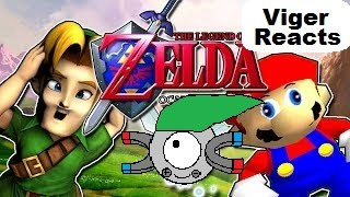 """Viger Reacts to SMG4's """"If Mario was in... Legend Of Zelda: Ocarina Of Time"""""""
