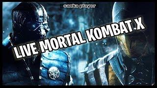 MORTAL KOMBAT X- AO VIVO - MODO HISTORIA , JA NA ESPERA DO LANÇAMENTO DO NOVO!!!