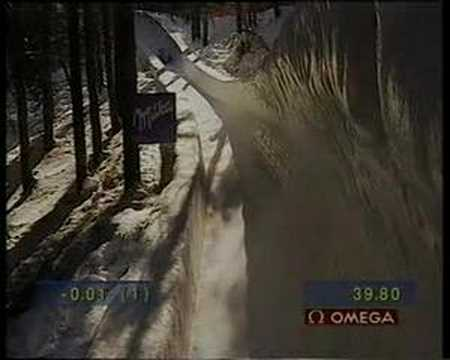 4er Bob WM 1997 in St. Moritz Team Christian Reich...