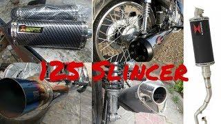 Honda 125 Slincer Modified best sliencer