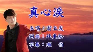翁立友 真心淚 KTV 字幕 HD1080P