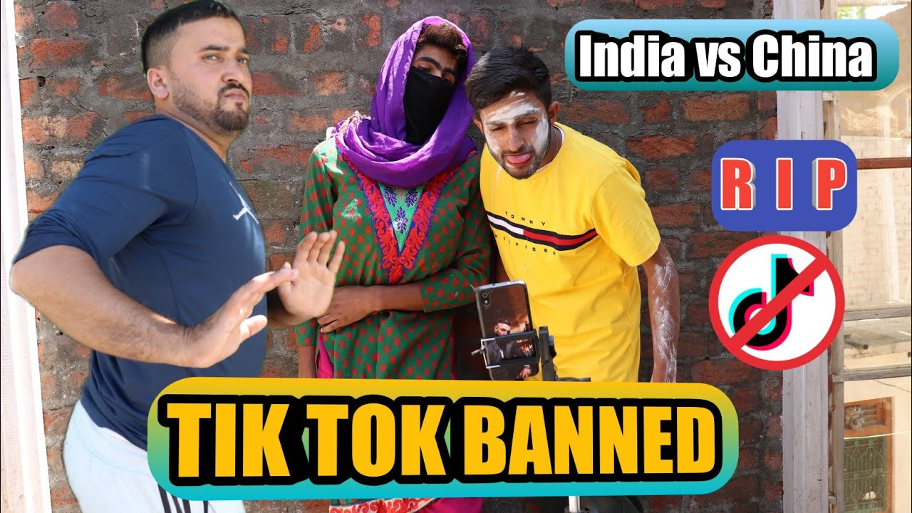 TIK TOK BANNED || FUNNY VIDEO || BY ULTIMATE ROUNDERS