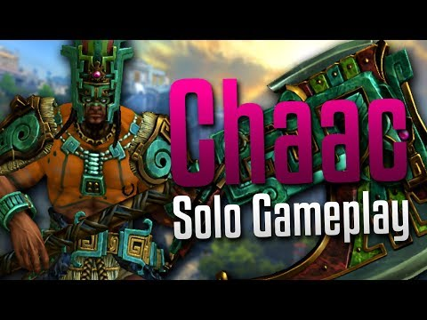 Smite: I Exist...- Chaac Solo Gameplay