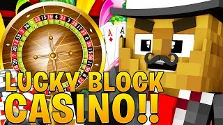 *BRAND NEW* MINECRAFT MARIO LUCKY BLOCK CASINO CHALLENGE