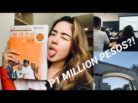 P1 Million To Live And Study In Beijing?! | Patricia Yi