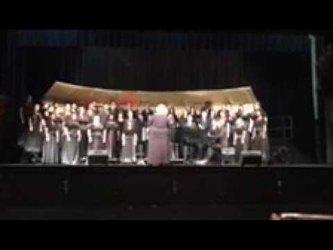 Total Praise performed by the Panola College Choir