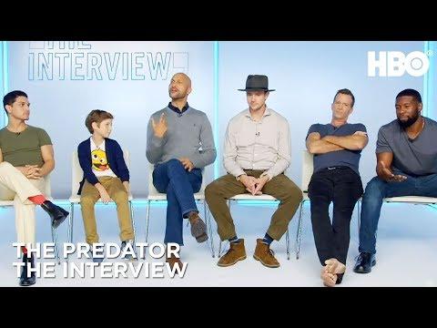 'The Predator'  w Thomas Jane, Boyd Holbrook & More  HBO