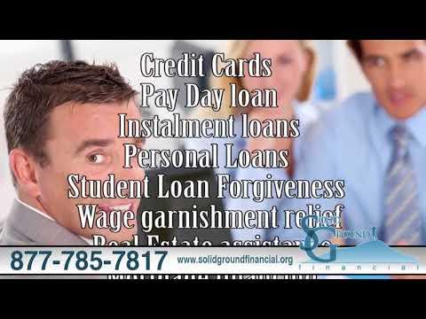 Solid Ground Financial   Credit Card Installment, Loans & Wage Garnishment Relief   Miami, FL